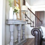 DIY Console Table From Turned Legs