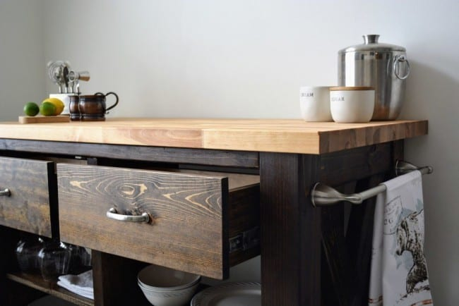 Construct A Kitchen Island