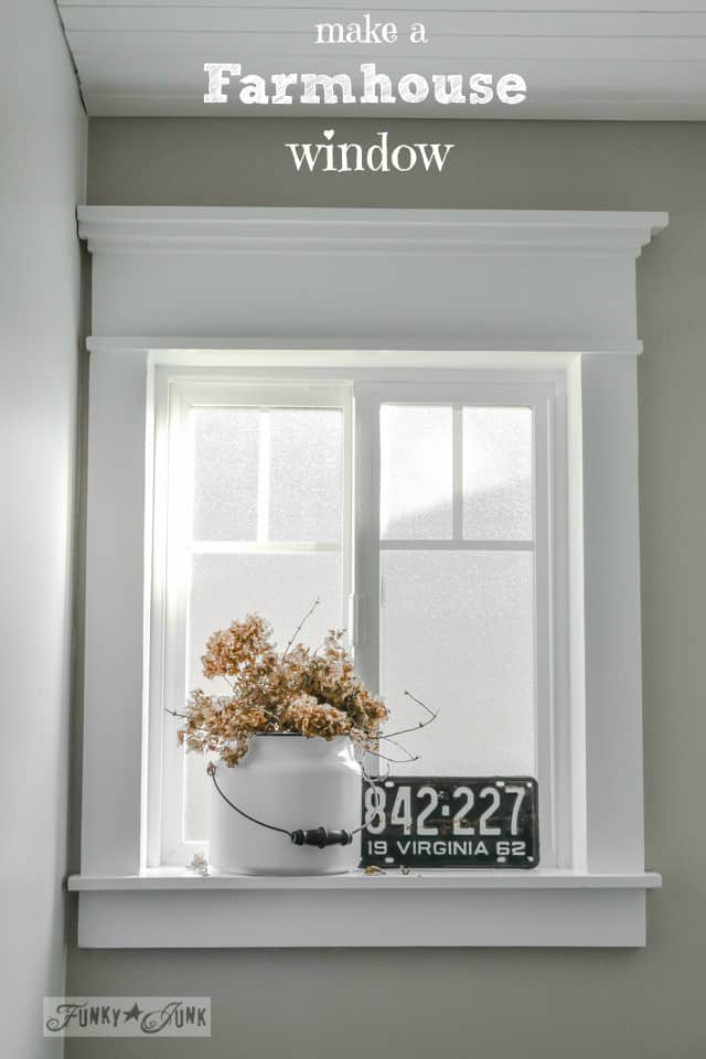Create A Farmhouse Window