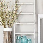 DIY Mantel Ladder