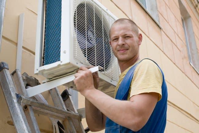 Installing AC