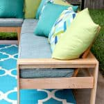 DIY Outdoor Bench