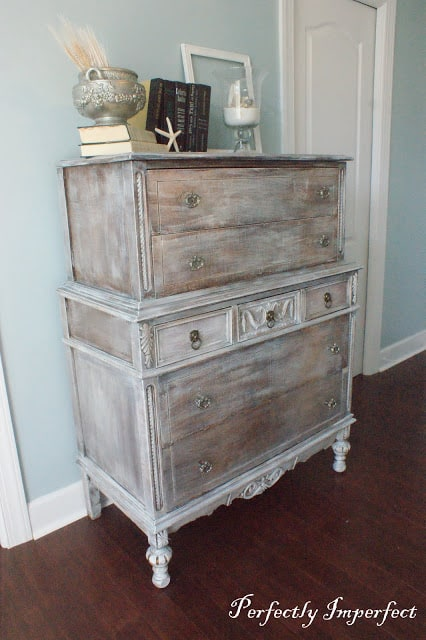 DIY Refinished Chest