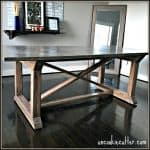 Concrete Dining Table: Industrial or Farmhouse?