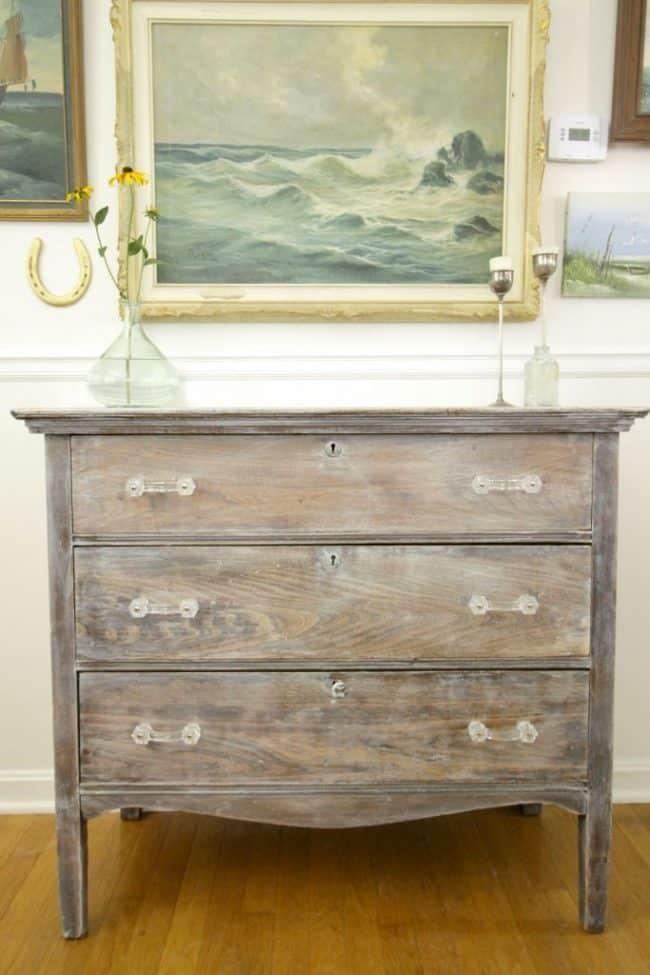 DIY Refinish An Old Dresser