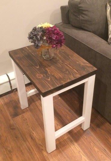 Diy Modern End Table Knockoffdecor Com