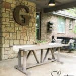 Build An Outdoor Table