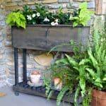 DIY Outdoor Wood Planter