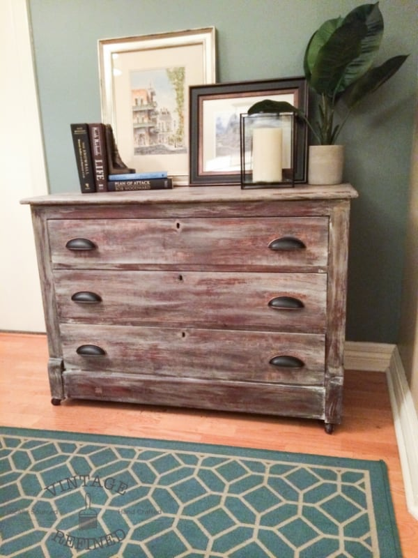 Rustic Refinish Of Wood Furniture Knockoffdecor Com