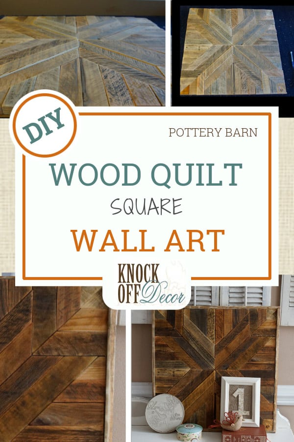 Wood Quilt Square Wall Art Knockoffdecor Com