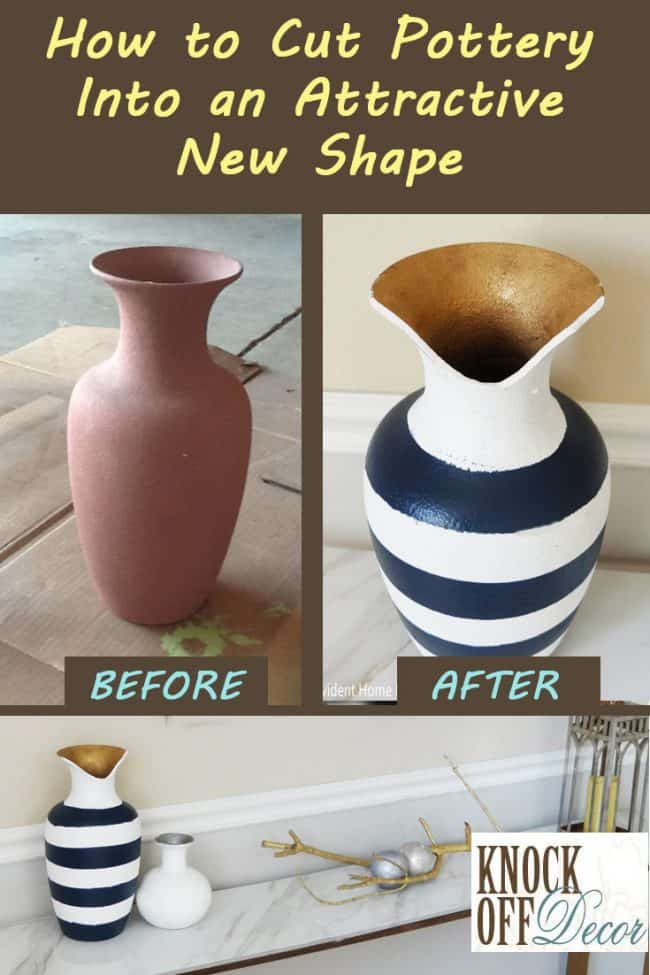 How to Cut Pots and Vases