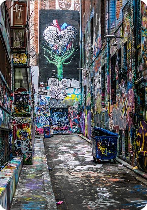Graffiti wall art inspiration