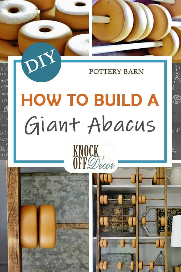 How to build Pottery Barn abacus