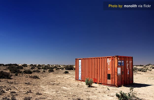 land-container