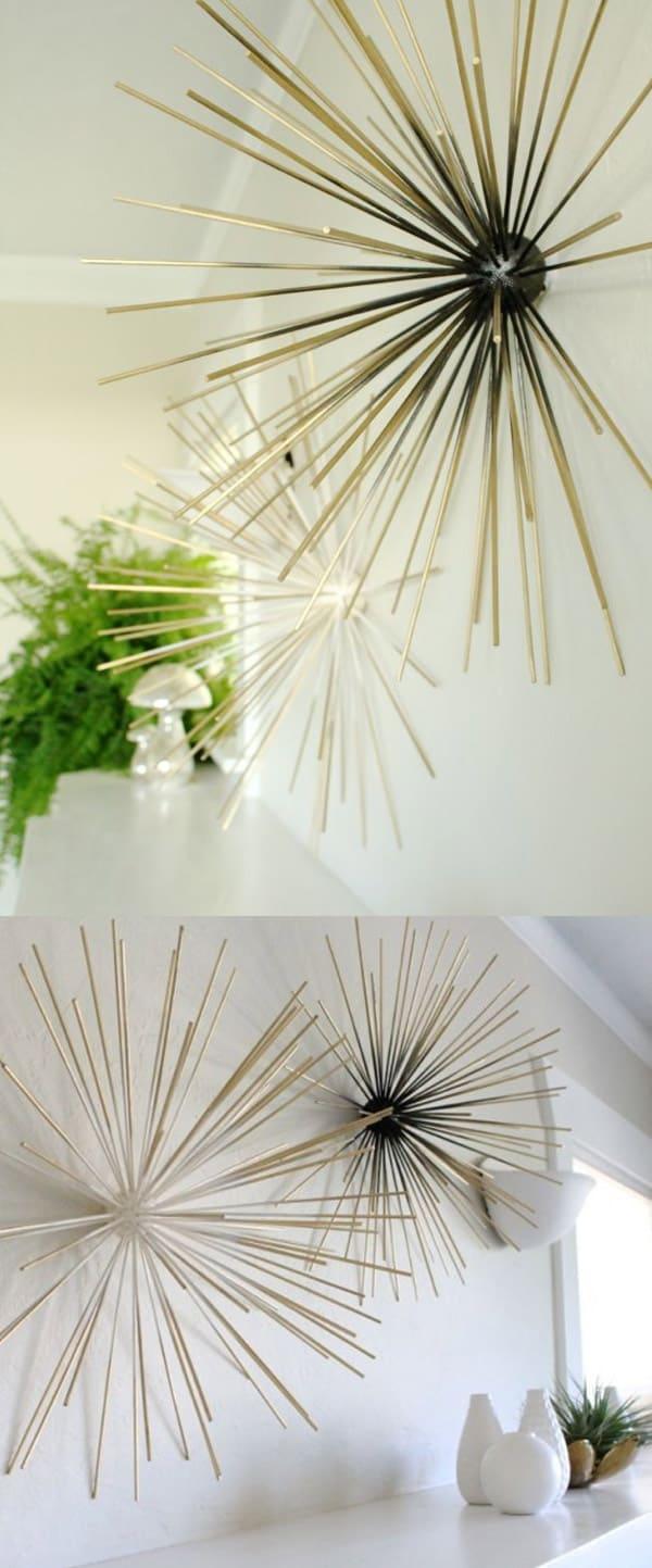 Bamboo Skewer Sculpture