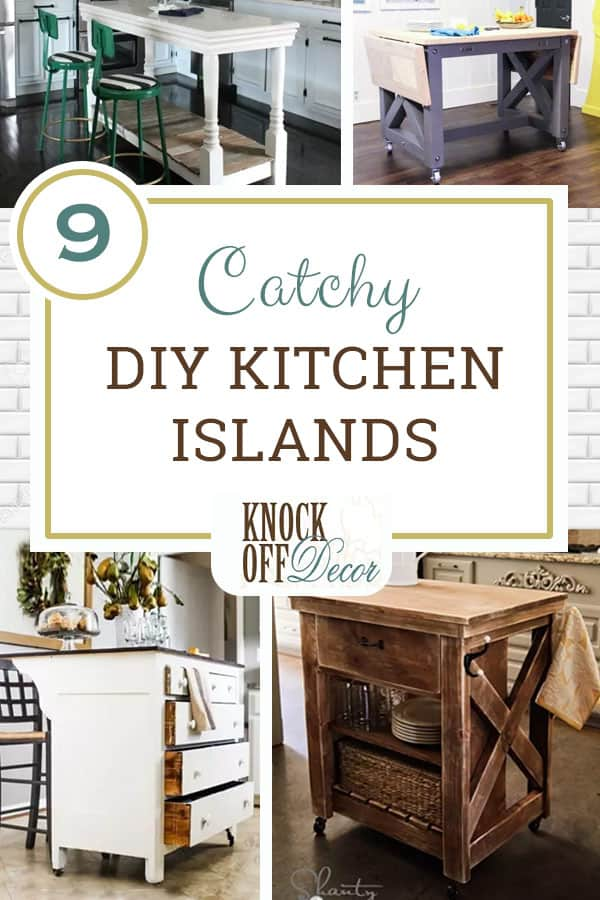 9 Catchy Kitchen Islands You Can Make Yourself
