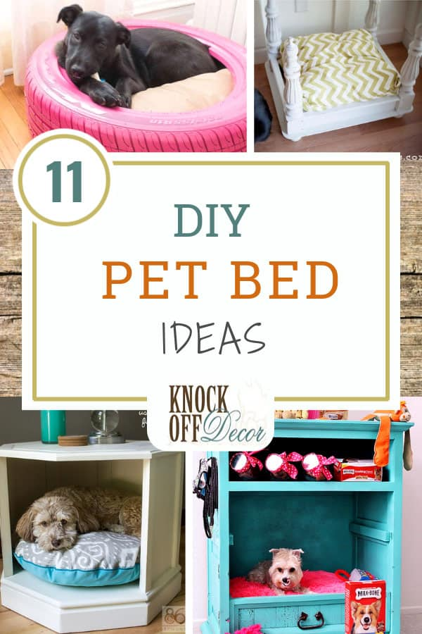 13 Diy Pet Bed Ideas Knockoffdecor