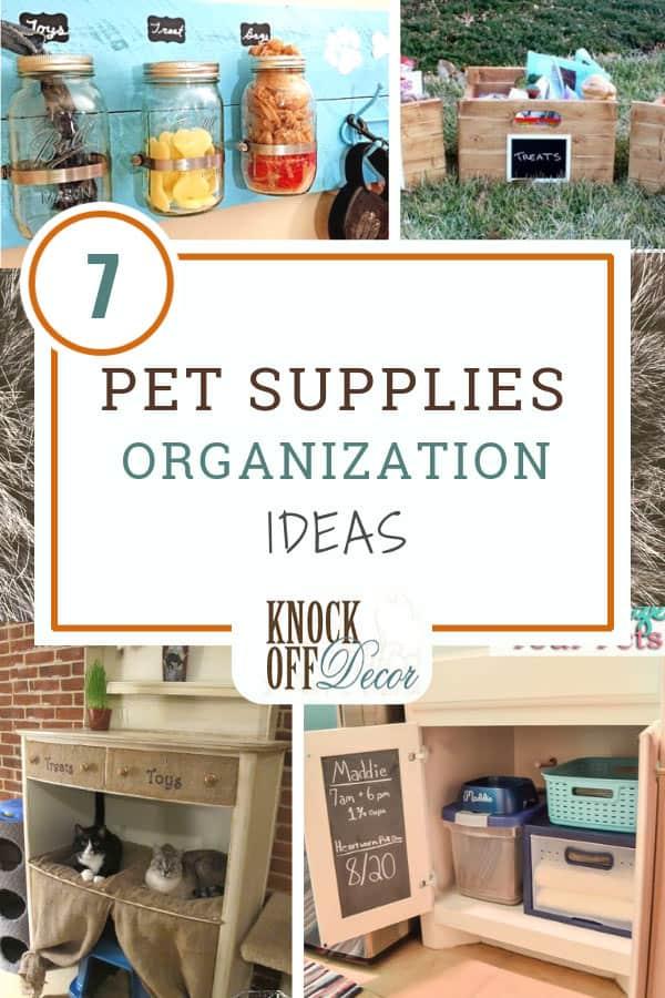 7 Efficient Ways To Organize Your Pet Supplies
