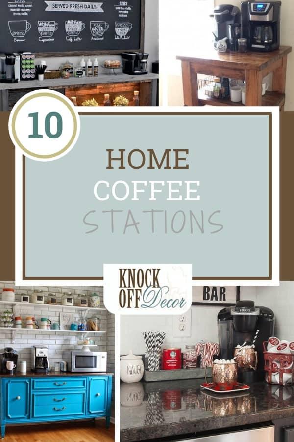 10 Diy Home Coffee Stations Knockoffdecor Com
