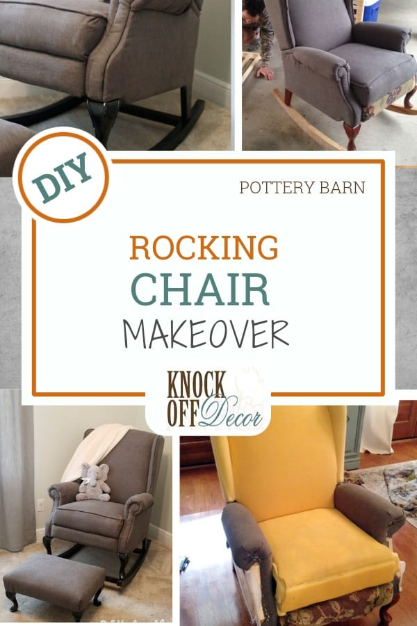 Wingback Chair To Nursery Rocker Knockoffdecor Com