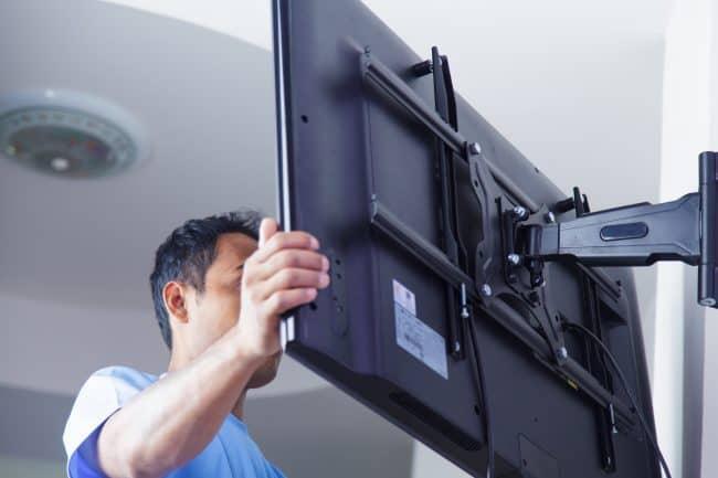 mounting TV