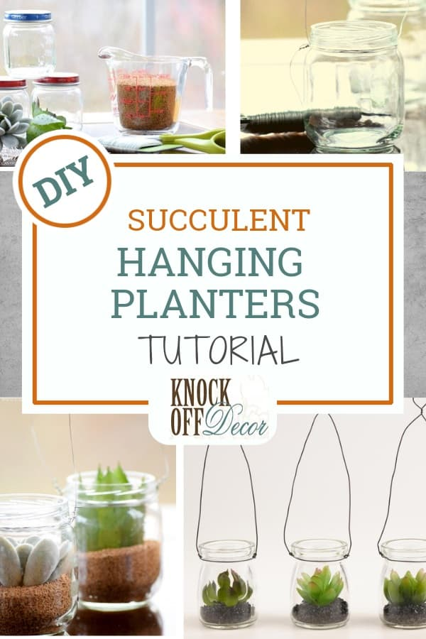 Mini Succulent Hanging Planters Knockoffdecor Com