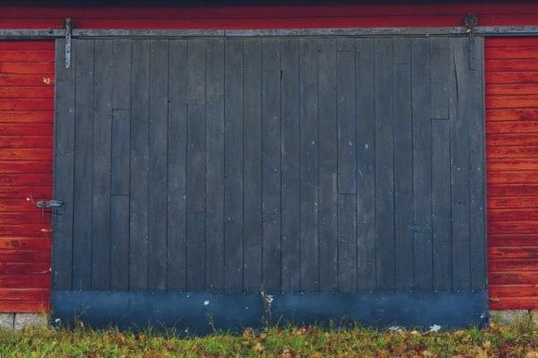 old barn on farm