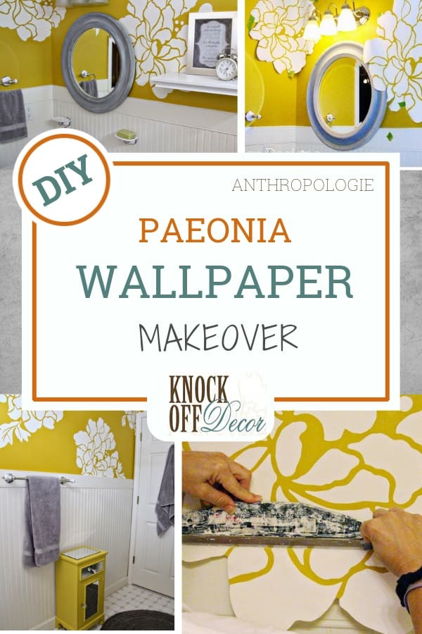 Anthropologie Wallpaper Hack Knockoffdecor Com