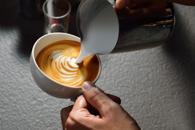 Make a latte