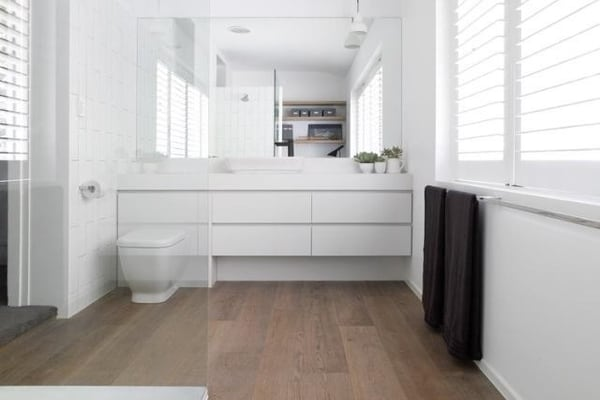 minimalist design for bathroom