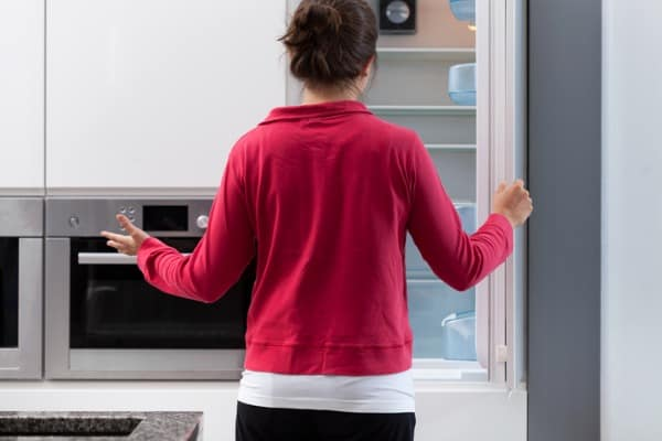 placing the refrigerator in a right place