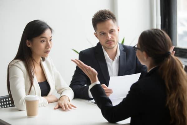 questioning a real estate broker