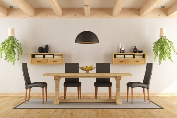 go green to your dining area