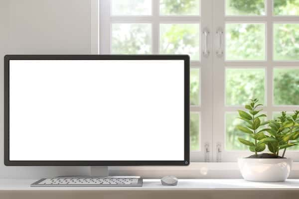 large monitor