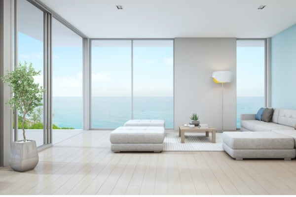 sea view living room