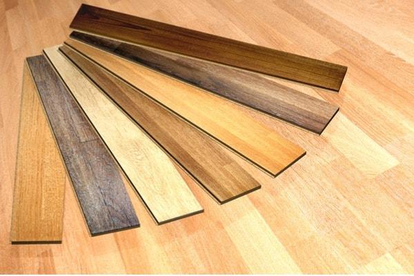 builder-grade hardwood