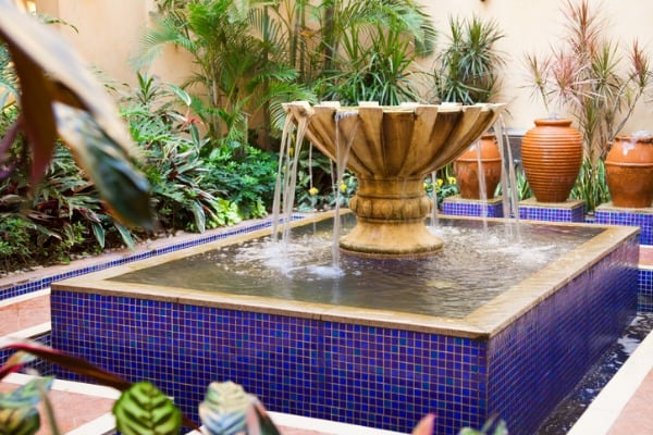 invest in a water feature