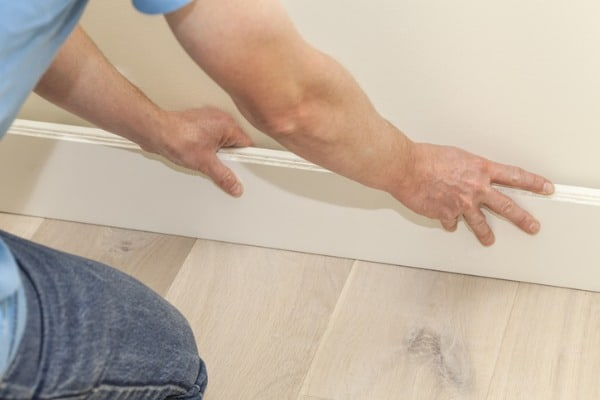 MDF skirting board can last