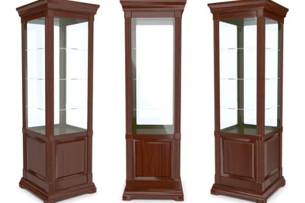 corner curios cabinets