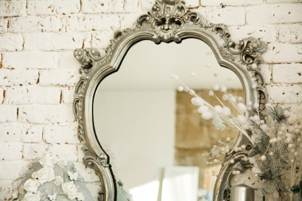 antique mirror in your bedroom