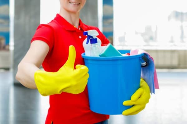 choose cleaning lady service