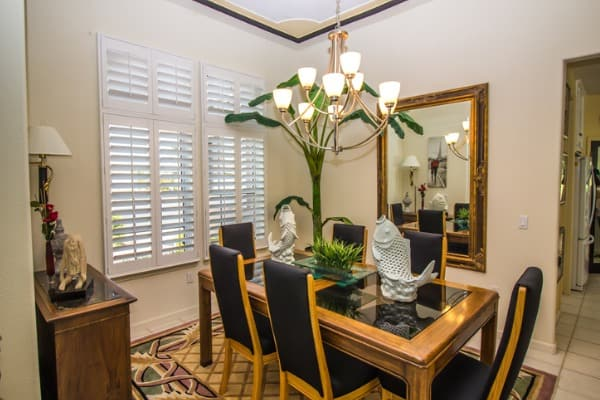 hanging mirror in your dining room