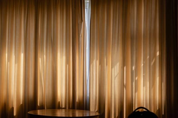 install think curtains