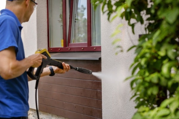 pressure washer helps your home