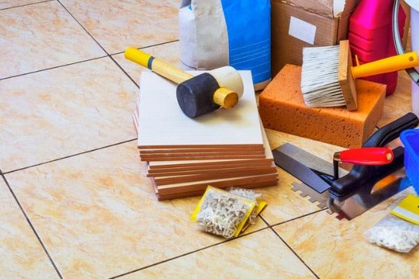 tools for repairing tiles