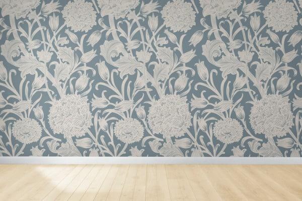 bedroom whimsical wallpaper