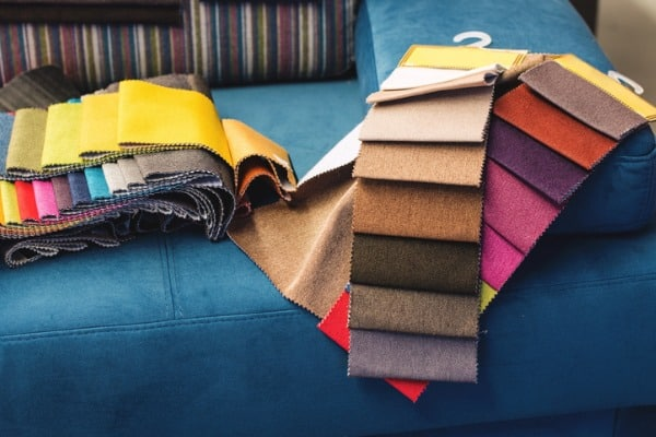 colorful upholstery fabric