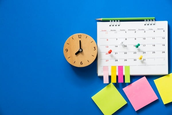 keep your schedule a constant
