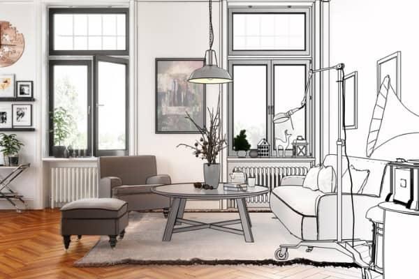 plans for interior design