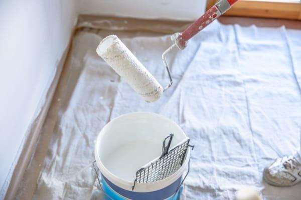 repainting bathroom